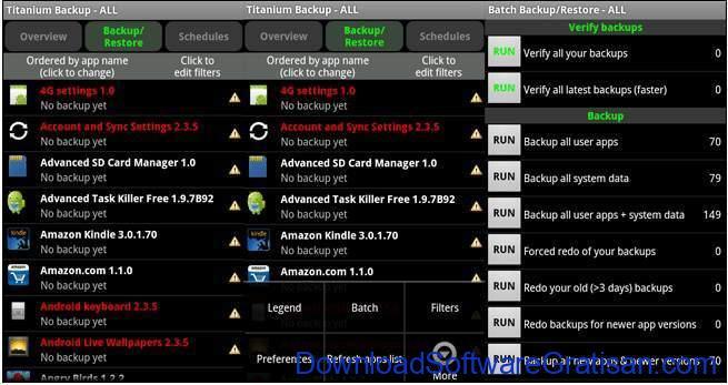 aplikasi yang membutuhkan root Titanium Backup