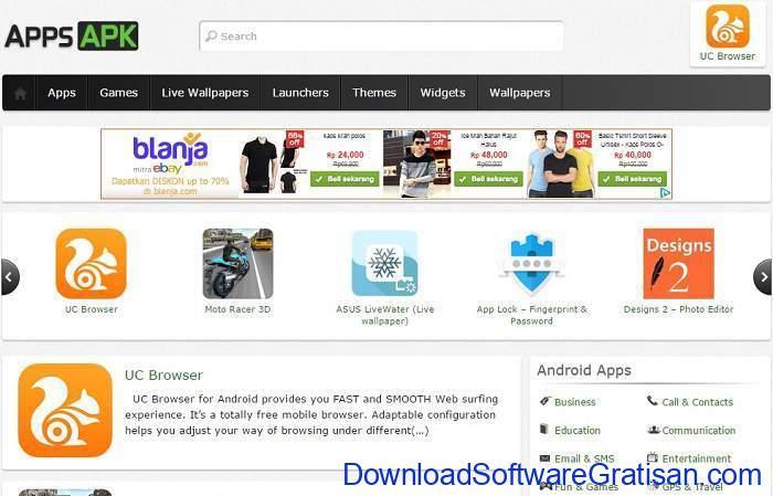 Situs Download Aplikasi Android Terpopuler & Terbaik appsAPK