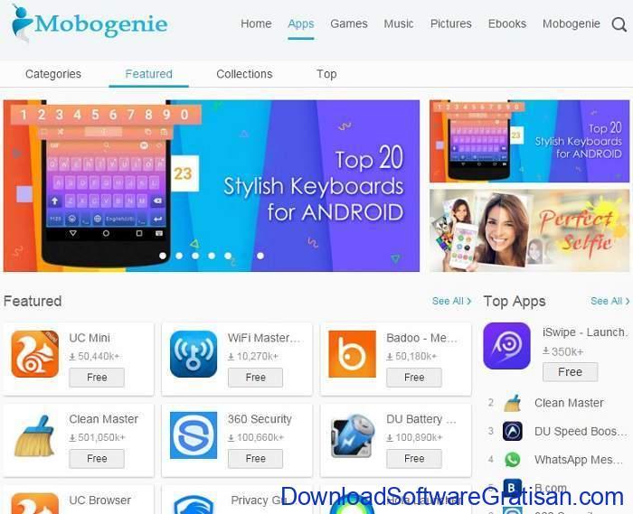 Situs Download Aplikasi Android Terpopuler & Terbaik mobogenie