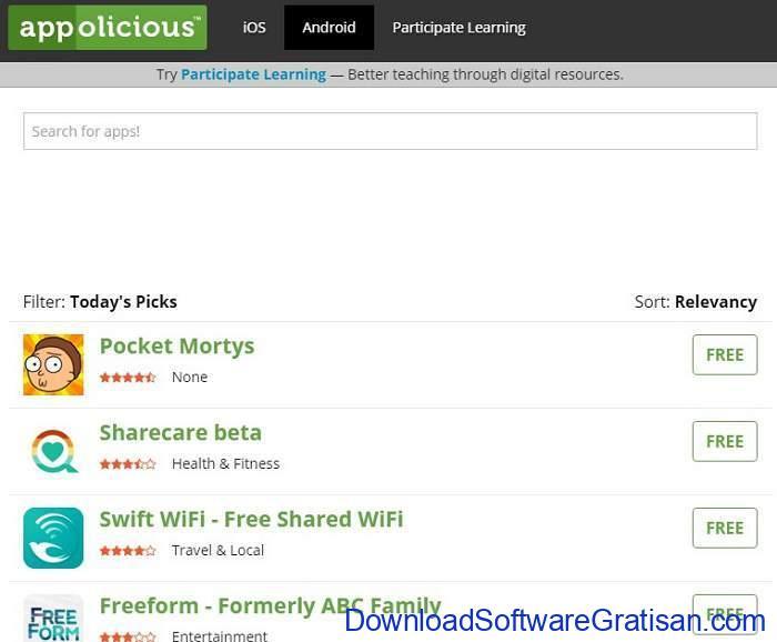 Situs Download Aplikasi Android Terpopuler & Terbaik android apps