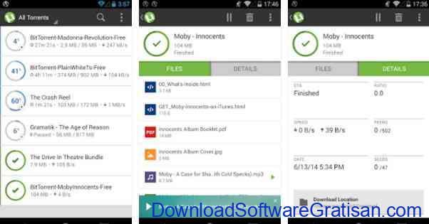 Aplikasi Gratis Android yang Berguna dan Bermanfaat µTorrent®- Torrent Downloader