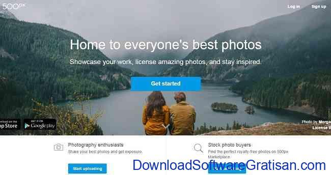 Tempat Menyimpan Foto di Internet 500px
