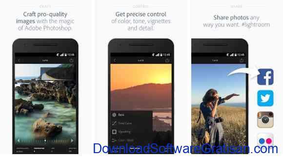 Aplikasi Gratis Android yang Berguna dan Bermanfaat Adobe Photoshop Lightroom