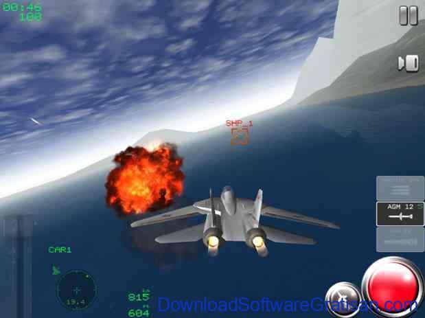 Game Simulator Pesawat Terbaik untuk Android Air Navy Fighters Lite
