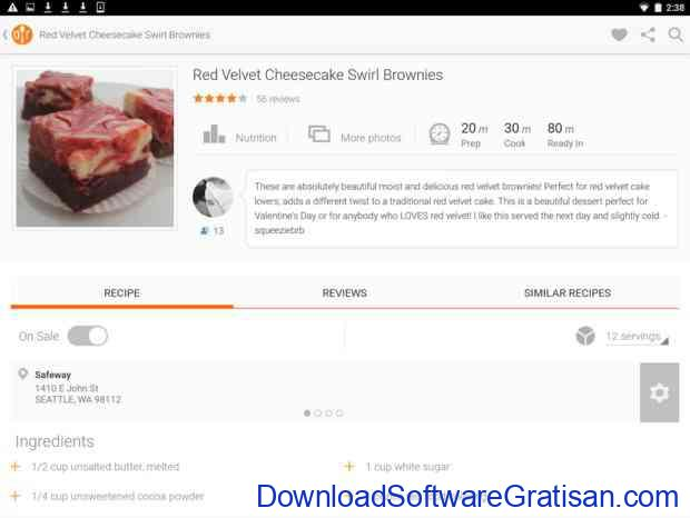 Aplikasi Gratis Android yang Berguna dan Bermanfaat Allrecipes Dinner Spinner