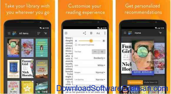 Aplikasi Gratis Android yang Berguna dan Bermanfaat Amazon Kindle