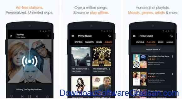Aplikasi Gratis Android yang Berguna dan Bermanfaat Amazon Music with Prime Music