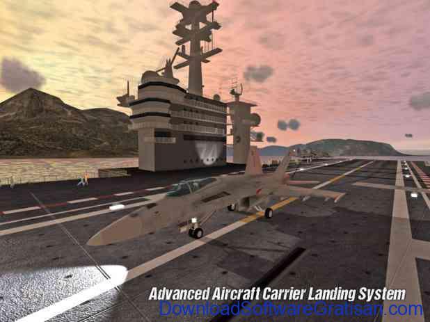 Game Simulator Pesawat Terbaik untuk Android Carrier Landings