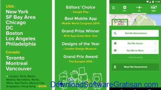 Aplikasi Gratis Android yang Berguna dan Bermanfaat Citymapper