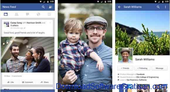 Aplikasi Gratis Android yang Berguna dan Bermanfaat Facebook