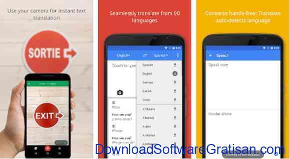 Aplikasi Gratis Android yang Berguna dan Bermanfaat Google Translate
