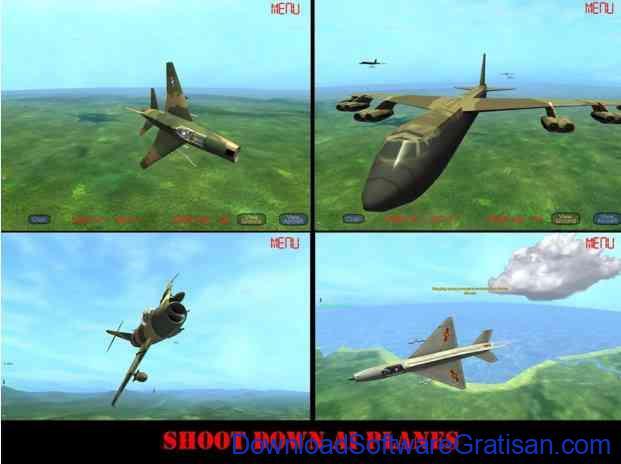 Game Simulator Pesawat Terbaik untuk Android Gunship III FREE