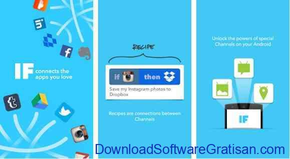 Aplikasi Gratis Android yang Berguna dan Bermanfaat IF by IFTTT