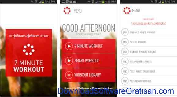 Aplikasi Gratis Android yang Berguna dan Bermanfaat Johnson & Johnson 7 Minute