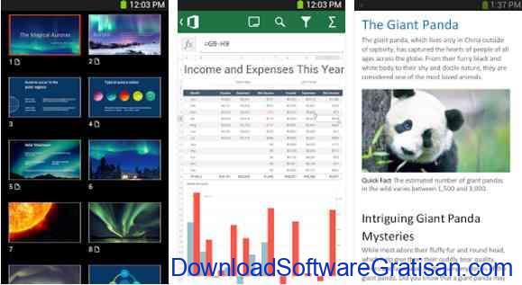 Aplikasi Gratis Android yang Berguna dan Bermanfaat Microsoft Office Mobile
