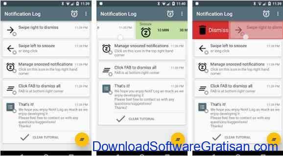Aplikasi Gratis Android yang Berguna dan Bermanfaat Notif Log notification history