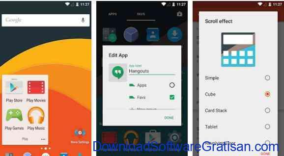 Aplikasi Gratis Android yang Berguna dan Bermanfaat Nova Launcher