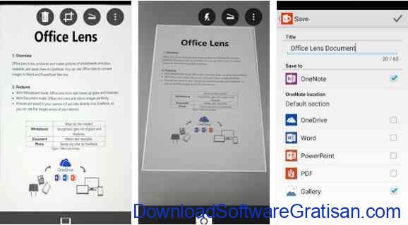 Aplikasi Gratis Android yang Berguna dan Bermanfaat Office Lens