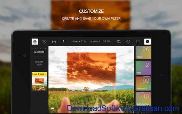 Aplikasi Gratis Android yang Berguna dan Bermanfaat Polarr Photo Editor
