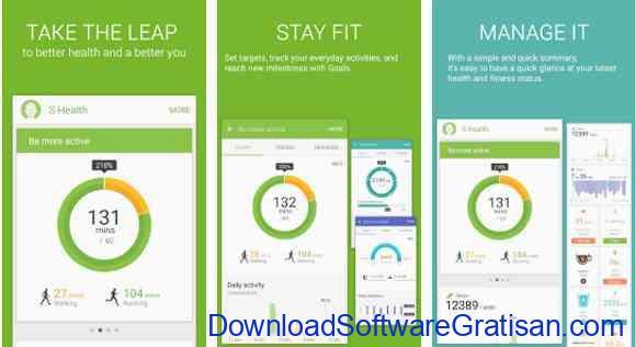 Aplikasi Gratis Android yang Berguna dan Bermanfaat S Health