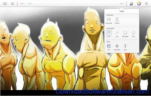 Aplikasi Gratis Android yang Berguna dan Bermanfaat SketchBook Express