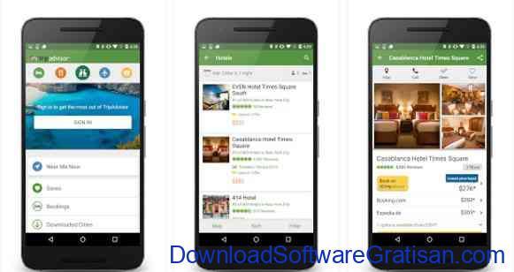 Aplikasi Gratis Android yang Berguna dan Bermanfaat TripAdvisor Hotels Flights