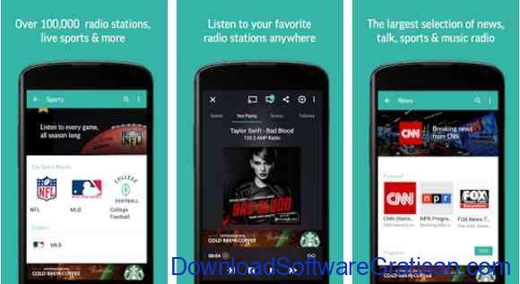 Aplikasi Gratis Android yang Berguna dan Bermanfaat TuneIn Radio