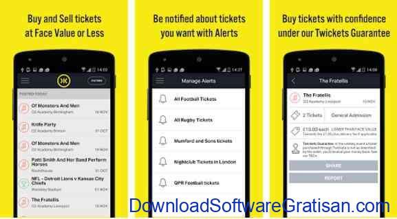 Aplikasi Gratis Android yang Berguna dan Bermanfaat Twickets