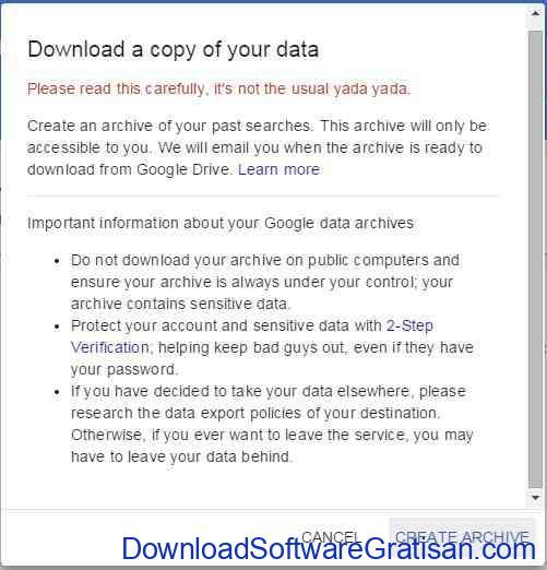 download arsip history pencarian google