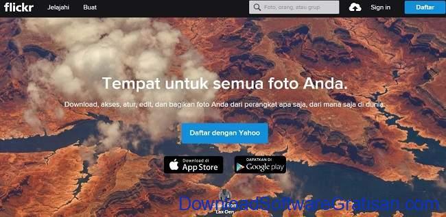 Tempat Menyimpan Foto di Internet flickr
