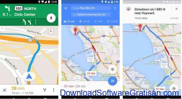 Aplikasi Gratis Android yang Berguna dan Bermanfaat google maps