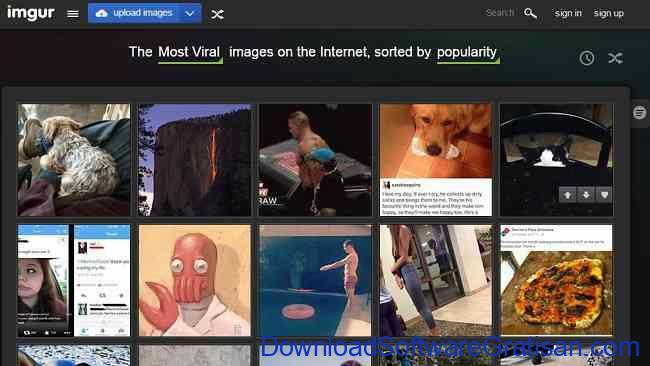 Tempat Menyimpan Foto di Internet imgur