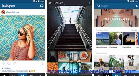 Aplikasi Gratis Android yang Berguna dan Bermanfaat instagram