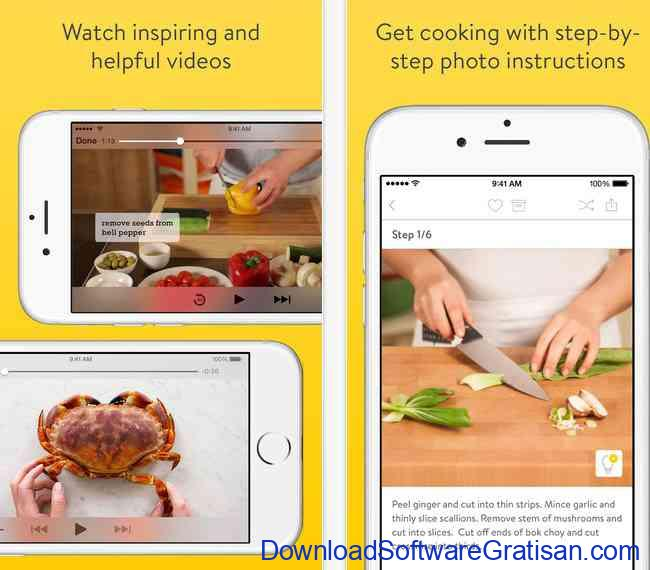 Aplikasi Resep Makanan kitchen-stories-ios