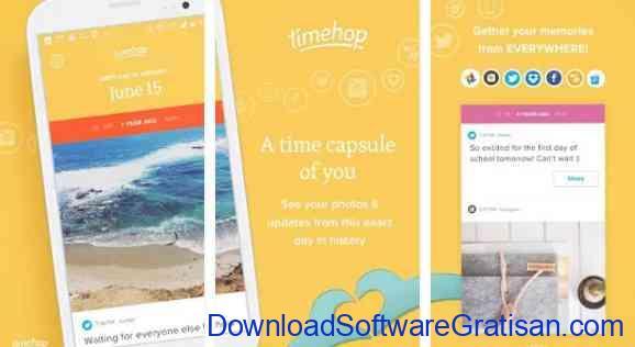 Aplikasi Gratis Android yang Berguna dan Bermanfaat timehop