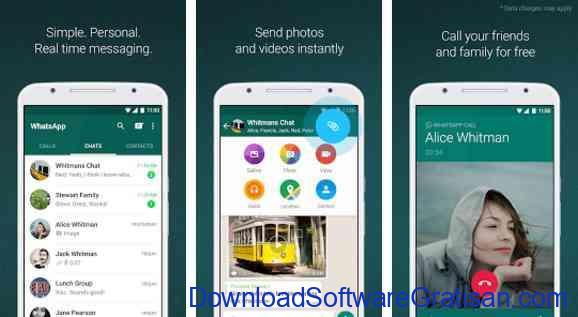 Aplikasi Android Paling Berguna dan Bermanfaat whatsapp