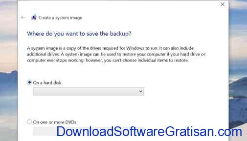windows 10 backup-system image backup