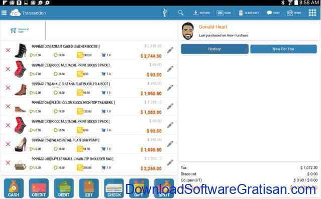 Aplikasi Mesin Kasir Toko (POS) Gratis Terbaik untuk PC zeroPOS