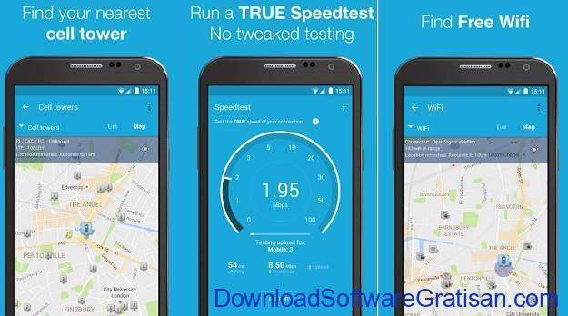 aplikasi penguat wifi gratis terbaik android 3g 4g wifi maps speed test