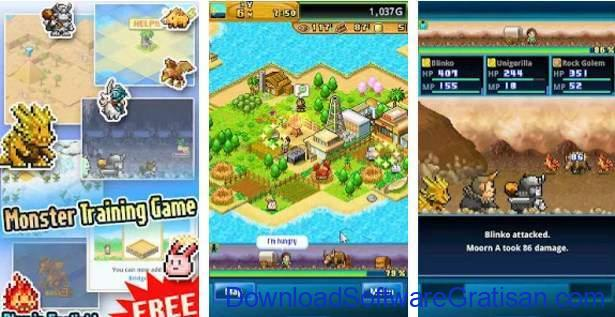 Game Alternatif  Pokemon untuk Android Beastie Bay