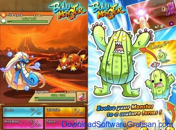 Game Alternatif  Pokemon untuk Android Bulu Monster