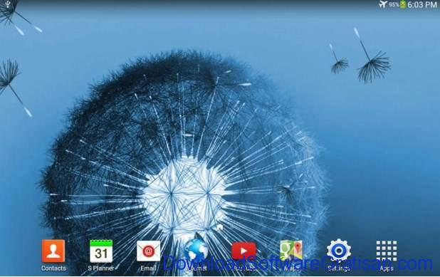 Live Wallpapers Android Gratis Terbaik Dandelion Live Wallpaper
