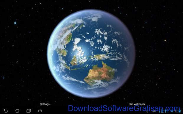 Live Wallpapers Android Gratis Terbaik Earth HD Free Edition