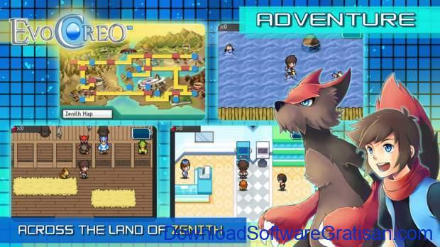 Game Alternatif  Pokemon untuk Android EvoCreo