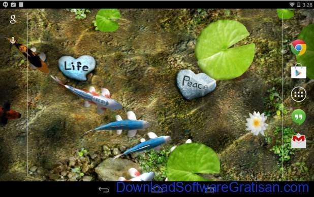 Live Wallpapers Android Gratis Terbaik Koi Free Live Wallpaper