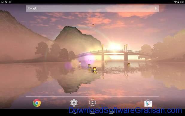 Live Wallpapers Android Gratis Terbaik Lantern Festival 3D