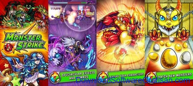Game Alternatif  Pokemon untuk Android Monster Strike