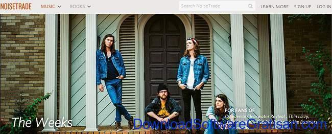 Situs Download Lagu Gratis Terbaik NoiseTrade