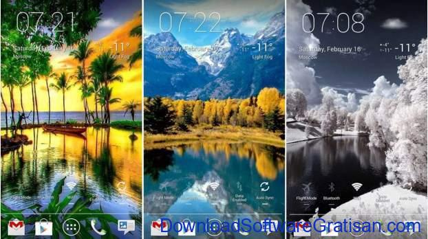 Live Wallpapers Android Gratis Terbaik Panoramic Screen