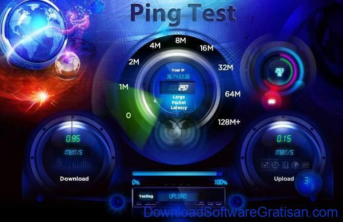 Situs Tes Kecepatan Internet Online Terbaik Ping Test